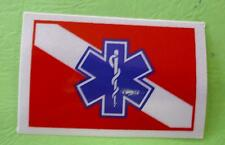 DIVERS WITH CENTER STAR OF LIFE  DECAL STICKER