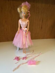 1980s Mattel My First Ballerina Barbie with Accessories