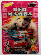 Red Mamba 15000 Extreme - 6 Pills Male Enhancement Pill Supplement More Stamina