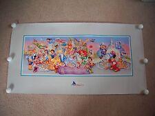 "Walt Disney World 25th Rare Commemorative Litho ""Remember The Magic"""