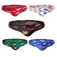 Animals Series Men Swimming Boxer Briefs Swim Beach Shorts Swimwear Board Shorts