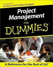 Project Management for Dummies by Stanley Portny (2000, Paperback)
