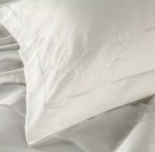Christy Richmond Standard Pillowcase Pair In White RRP£60
