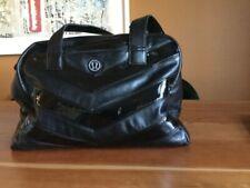 Lululemon Gym Bag Black on Black Patent Chevron.. Roomy