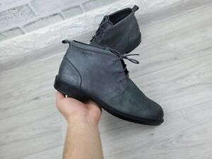 Mens ECCO Desert Leather Boots EU 41