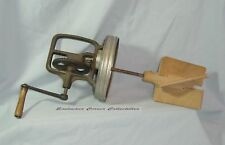 Terrific Vintage Butter Churn Top Assembly W/Clean Wooden Paddles Unmarked VTG