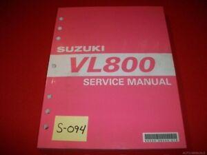 SUZUKI VL800 VL 800 ORIGINAL FACTORY SERVICE MANUAL INC. 2002-05 EXC CONDITION