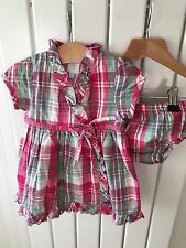 Baby Girl's Clothes 0-3 Months - JASPER CONRAN BNWOT Check 2pc Dress Set