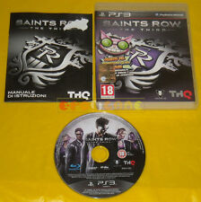 "Saints row the third 3 ps3 official version Italian 1ª Edition"""""""" Complete"
