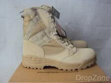 Army Desert Combat Patrol BOOTS Military Tactical Suede Tan Leather Cadet Hiking UK 8