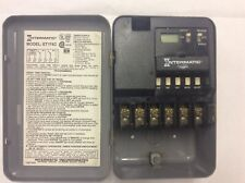 intermatic et174c electronic 7 day timer switch double pole single throw 30 amo