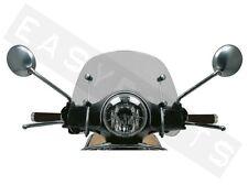 VESPA LX 50 125 150 SHORT SPORT CLEAR WINDSCREEN SCREEN KIT BRAND NEW 3