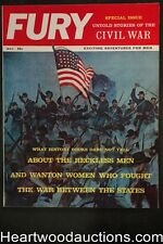 Fury May 1961 Special Civil War Issue, Patti Winters, Murder of Abraham Lincoln