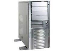 Aopen A600A Aluminum 350W Mid-Tower Case Silver color