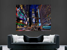 NEW YORK TIMES SQUARE POSTER LARGE WALL ART  PICTURE  PRINT