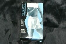 Vintage Sears Trim Cut Boxer Shorts White sz 40 New Made in Usa !