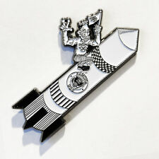 THE RAMONES Rocket To Russia enamel pin punk rock cbgb dee dee