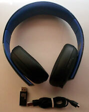 Sony PlayStation Gold Black Headband Headsets for PS3 & PS4 FREE SHIPPING