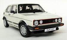 Nex 1/18 Scale - VW Volkswagen Golf GTi Pirelli Mk1 White Diecast model car