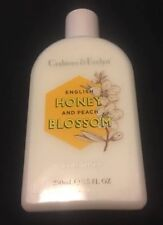 Crabtree And Evelyn Honey And Peach Blossom Bloody Lotion 250ml New !