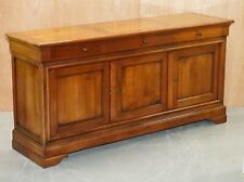 STUNNING LARGE FRENCH CHERRYWOOD SIDEBOARD