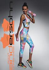 """Tessera 70""  Sport-Leggings 3/4 multicolor  **Made in EU**Top Qualität**"