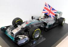 Coches de Fórmula 1 de automodelismo y aeromodelismo Mercedes GP de resina