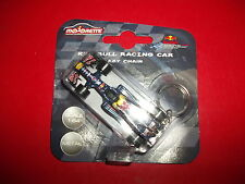 red bull racing car F1 formule 1 key chain porte clef 1/64 voiture Majorette