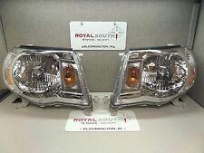 Toyota Tacoma 05-11 Left & Right Updated Front Headlight Set Genuine OE OEM