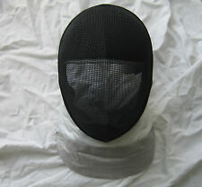 "Fencing Electric Foil Mask ""350 Nw"" Ce Level 1 With Replaceable Bib Medium Size"