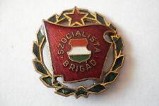 Hungary Hungarian Badge Socialist Brigade Green 3 Labor Laurel Communist Worker