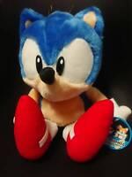 SEGA Sonic Super Jumbo Plush 1991-1992  w/Tag Japan 1998 RARE