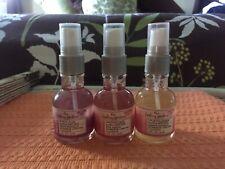 3 The Healing Garden Sensual Plum/ Passionate Rose / Jasmine Body Mist 2 Oz each
