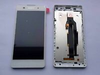 Replacement Sony Xperia E5 White LCD Screen Display Touch Digitizer +Frame F3311