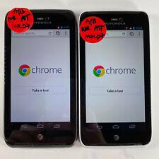 Lot of 2 Motorola Atrix HD M0CD7 AT&T*Check IMEI*