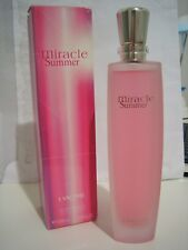 LANCOME MIRACLE SUMMER PERFUME FOR HER 100 ML VINTAGE DISCONTINUED!!!