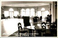 Vtg Postcard RPPC Ballroom Banff Springs Hotel Alberta Canada Byron Harmon Pub