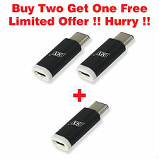 MX USB Type C to Micro USB Adapter for OnePlus 2, Letv Le 1S, Nexus 6P MACBOOK