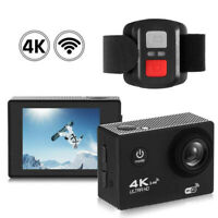 Motorcycle Sport DV Helmet 4K 1080P Wifi Camcorder Camera Video Driving Recorder