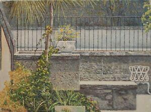 Vizeya - Miami by Vladimir Ctibor (Original Fine Art Cityscape on Canvas)