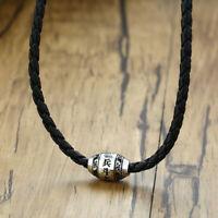 Herren Männer Halskette yin yang Surfer-Kette Buddha Mantra Anhänger Chinesisch