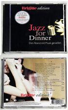 JAZZ FOR DINNER Diana Krall, Bobby Hebb, Nick Drake,... 2001 Brigitte Edition CD
