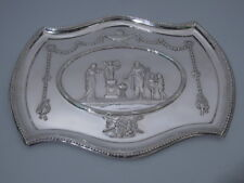Edwardian Tray - Antique Neoclassical Classical - English Sterling - Comyns 1905