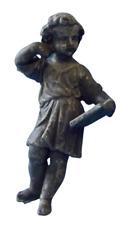 Ancienne Statue Régule Personnage à déterminer scribe 18 cm de haut Vintage 1910