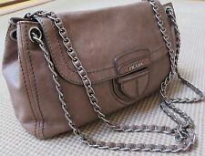 PRADA Handbag Leather Chain Straps BAG -100% Authentic