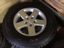 JK JEEP WRANGLER Wheels & Tyres (NEW) 245/75/R17