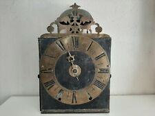 Horloge comtoise mécanisme Jean-Baptiste Poux Wanduhr french wallclock reloj