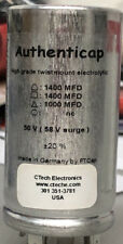 CAPACITOR CAN 1400 uf 1400 uf 1000 uf @ 50V Authenticap Marantz 7C Tube Preamp