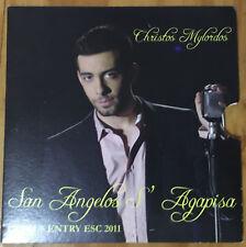 CD PROMOTIONAL EUROVISION CYPRUS 2011 CHRISTOS MYLORDOS SAN ANGELOS S'AGAPISA