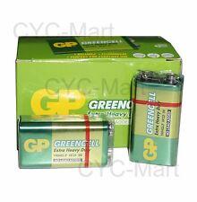 GP 9V Extra Heavy Duty battery x 10pc 1604GLF 6LR61 EN22 4022 FREE Shipping